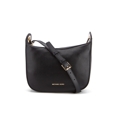 MICHAEL MICHAEL KORS Women's Raven Mid Messenger Bag - Black