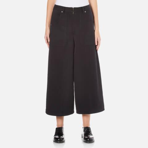 Marc Jacobs Women's Patch Pocket Culotte Trousers - Black