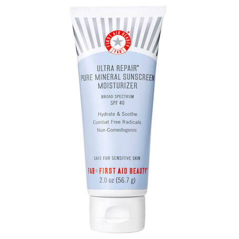 First Aid Beauty Ultra Repair Pure Mineral Sunscreen Moisturizer SPF40 56.7g