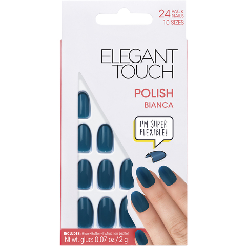 Elegant Touch Polished Nails Glamour Collection - Bianca