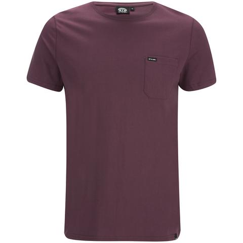 Animal Men's Young T-Shirt - Mauve Purple