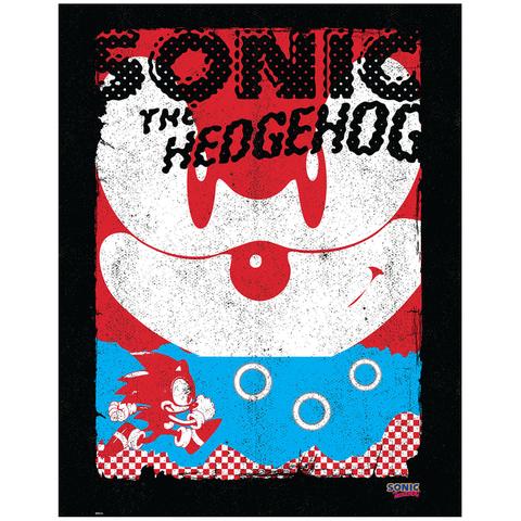 Sonic the Hedgehog Art Print - 14 x 11