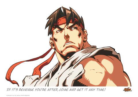 Street Fighter 'Revenge' Art Print - 16.5 x 11.7