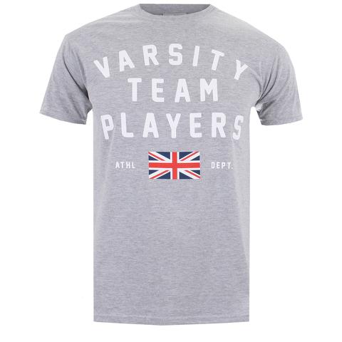 Varsity Team Players Men's Union T-Shirt - Sports Grey
