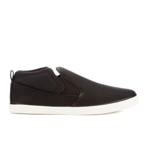 Brave Soul Men's Peate Slip On Trainers - Black