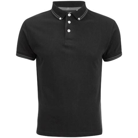 Soul Star Men's Ralling Polo Shirt - Black