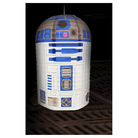 Star Wars R2-D2 Paper Shade - White/Blue