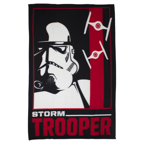 Star Wars Classic Stormtrooper Polar Fleece Blanket - 120 x 150cm