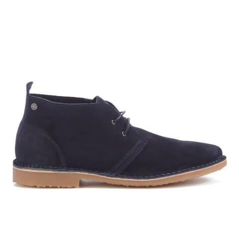 Jack & Jones Men's Gobi Suede Desert Boots - Navy Blazer