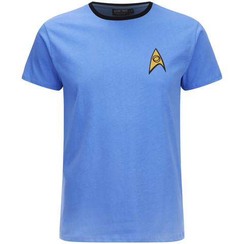 Star Trek Men's Science Uniform T-Shirt - Blue