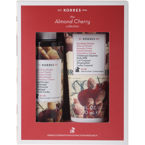 Korres Almond Cherry Collection
