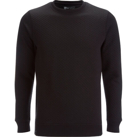 Dissident Men's Claredale Quilted Sweatshirt - Black