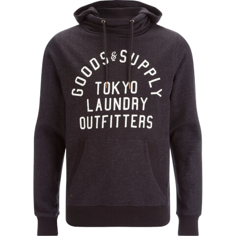 Tokyo Laundry Men's Franklin Valley Hoody - Charcoal Marl