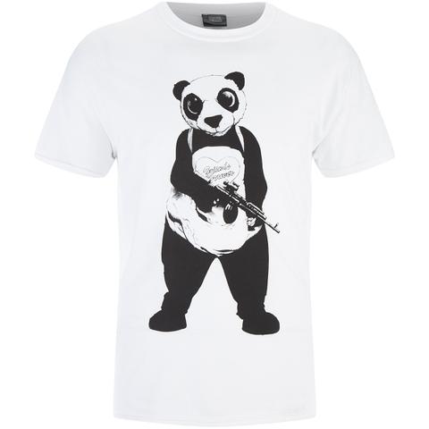 DC Comics Suicide Squad Men's Panda T-Shirt - Black