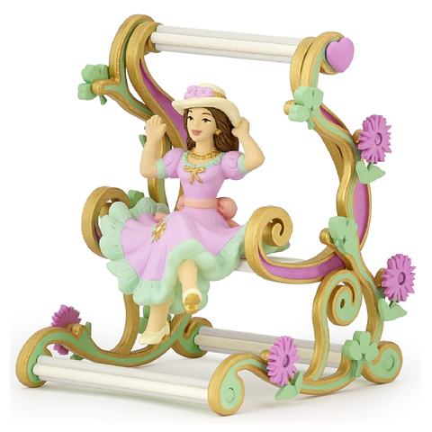 Papo Enchanted World: Princess on Swing Chair