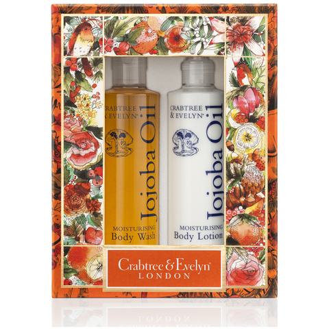 Crabtree & Evelyn Jojoba Body Care Duo (Worth £31.00)
