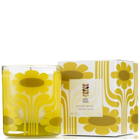 Orla Kiely Scented Candle - Sicilian Lemon