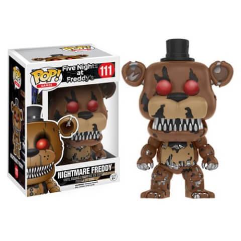 Five Nights at Freddy's Nightmare Freddy Pop! Vinyl Figure