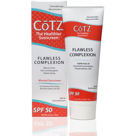 Cotz Flawless Complexion Sunscreen SPF50