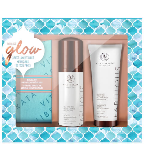 Vita Liberata Fabulous Glow Luxury Tan Box Kit - Medium Mousse