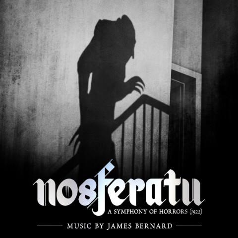 Nosferatu - Original Soundtrack (2LP) - Transparent Red Vinyl With Foil Blocked Gatefold Sleeve