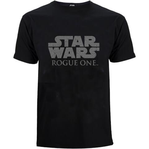 Star Wars: Rogue One Men's Star Wars Logo T-Shirt - Black