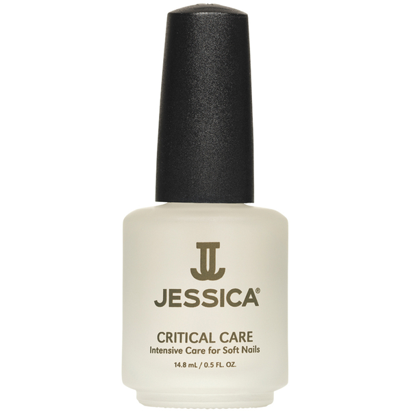 Jessica Critical Care Basecoat & Topcoat For Soft Nails- 14.8ml