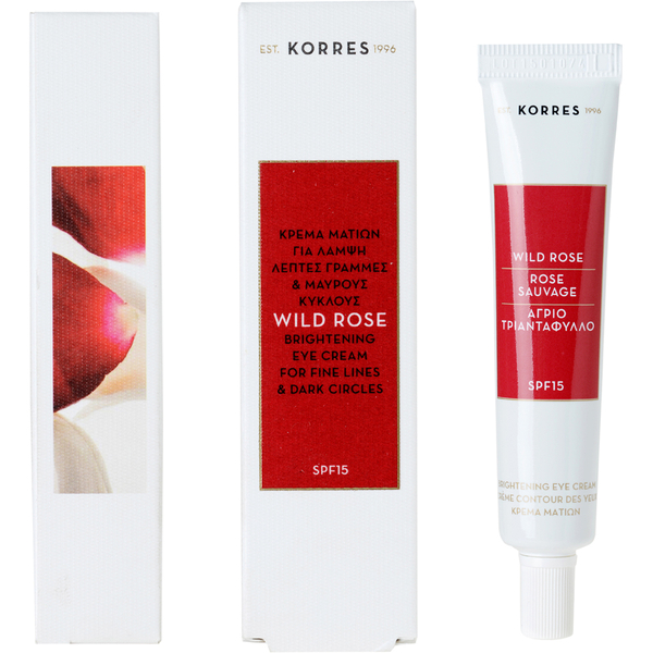 Korres Wildrosen Augencreme LSF15 15ml