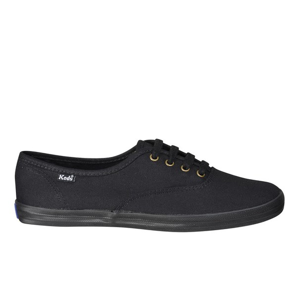 Keds Women's Champion CVO C/O Canvas Trainers - Black
