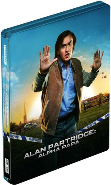 Alan Partridge: Alpha Papa - Steelbook Edition - Double Play (Blu-Ray and DVD)