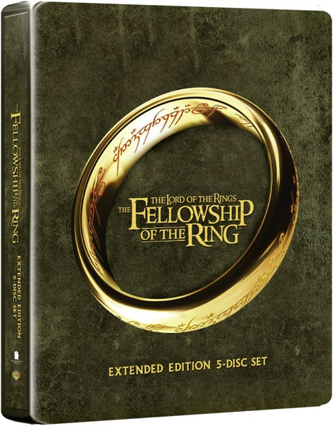 The Lord of the Rings: The Fellowship of the Ring Blu-ray ...