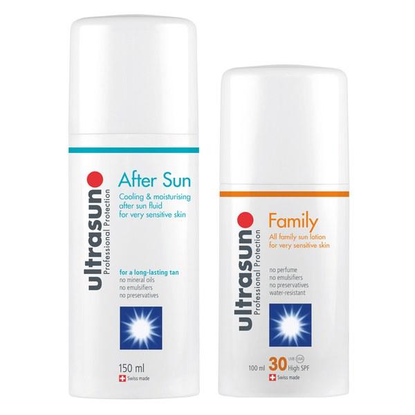 Ultrasun Family SPF 30 - Super Sensitive (100 ml) yUltrasun Aftersun