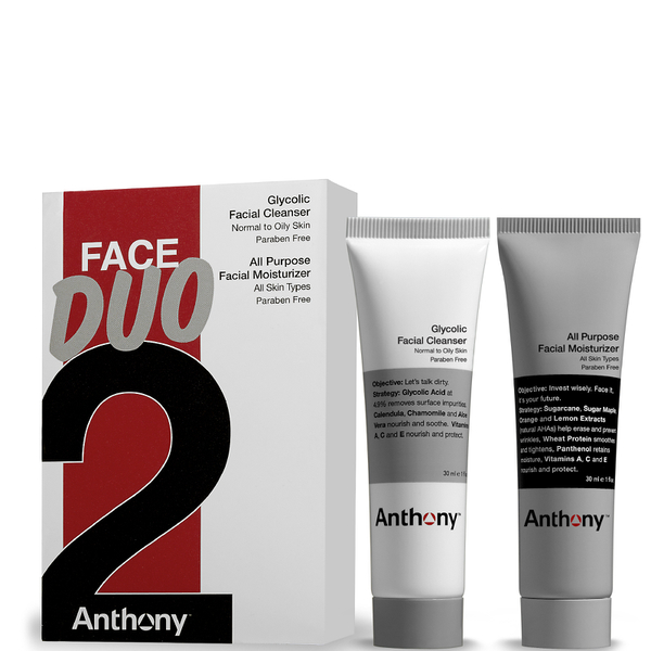 Anthony Anthony Face Duo (Glykol-Gesichtsreinigungund Feuchtigkeitspflege)