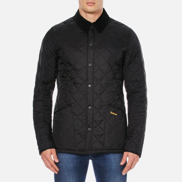 Barbour Heritage Men's Liddesdale Quilt Jacket - Black ...