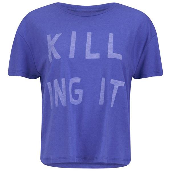Zoe Karssen Women's Killing it T-Shirt - Daze Blue