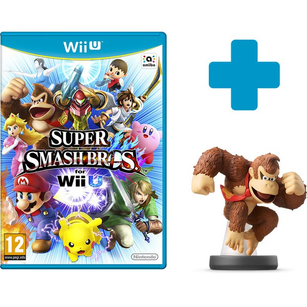 super smash bros for wii u donkey kong no4 amiibo