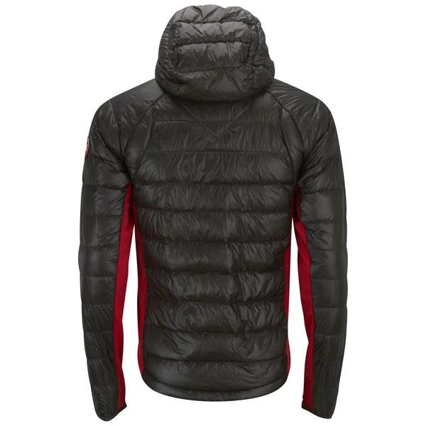 Canada Goose montebello parka online store - Canada Goose Men's Hybridge Lite Hoody - Graphite Red - Free UK ...