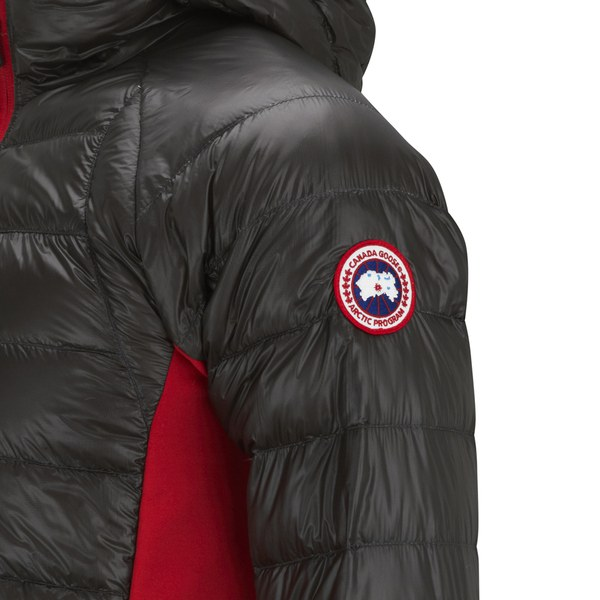 Canada Goose jackets outlet shop - Canada Goose Men's Hybridge Lite Hoody - Graphite Red - Free UK ...