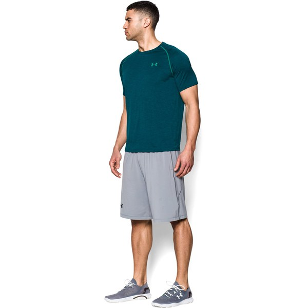 Under armour men 39 s tech t shirt hydro teal sports for Teal under armour shirt