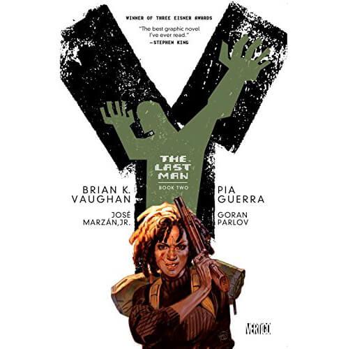 DC Comics Vertigo Y: The Last Man: Book Two Paperback Graphic Novel