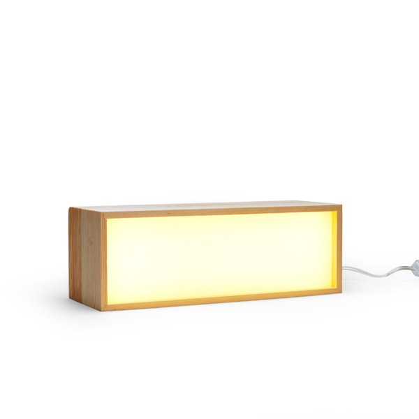 Seletti Lighthink Box Wood Wall Light - 4 Pieces - FREE UK Delivery