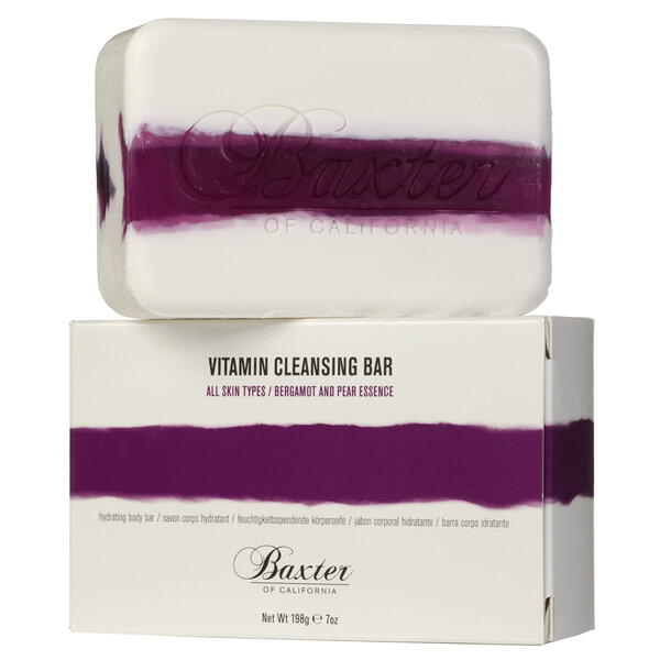 Baxter of California Vitamin Cleansing Bar - Bergamot and Pear 198g