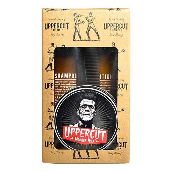Uppercut Deluxe Men's Kit - Monster Hold Combo
