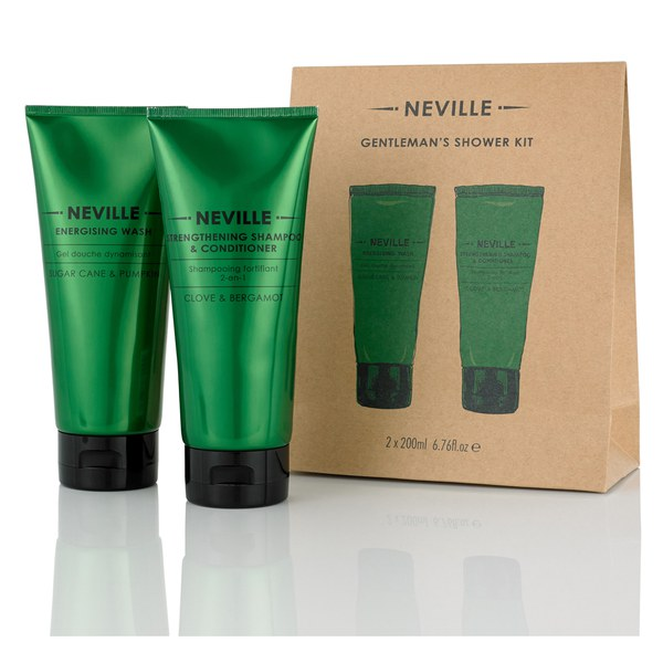 Neville Gentleman's Shower Kit (2 x 200ml)