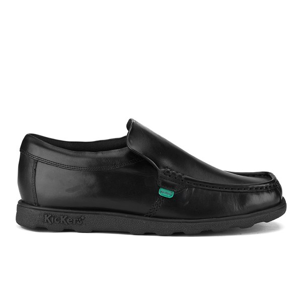 kickers s fragma slip on shoes black clothing