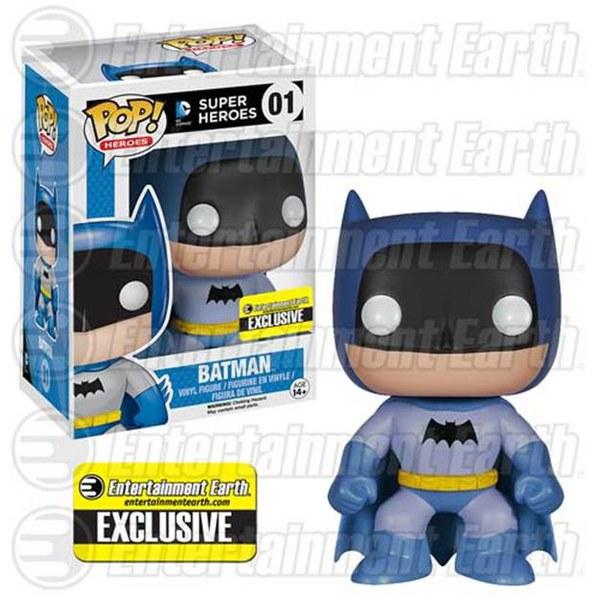 Dc Comics Batman 75th Anniversary Blue Rainbow Batman EE Exclusive Pop! Vinyl Figure