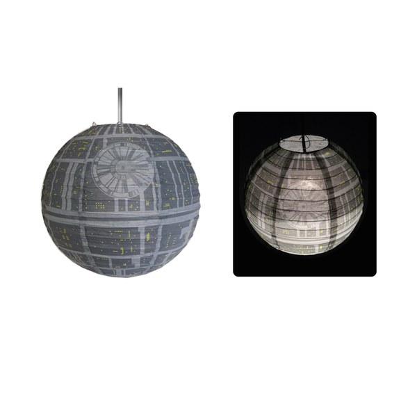 Star Wars Death Star Paper Lightshade