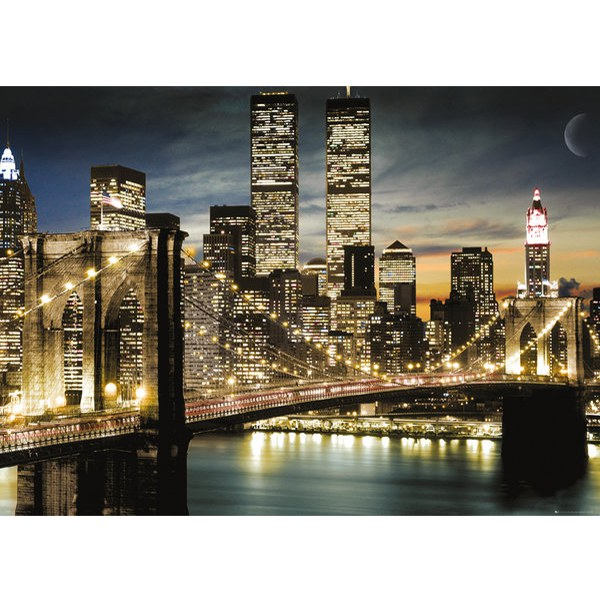 New York Manhattan Lights - Giant Poster - 100 x 140cm