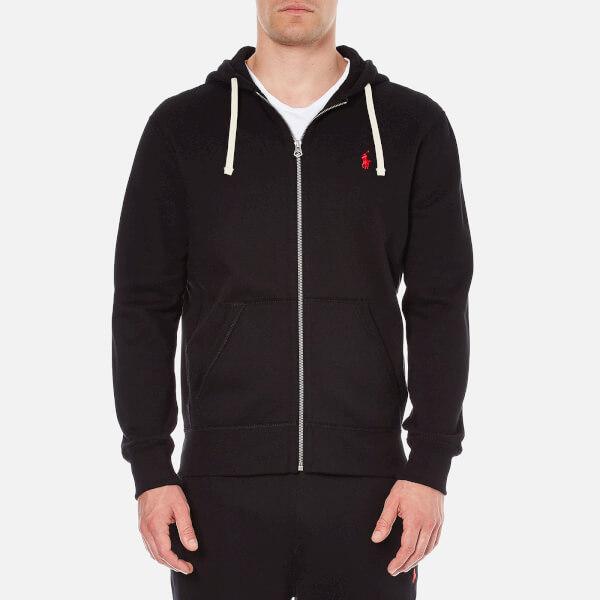 Polo Ralph Lauren Men's Zip Through Hooded Athletic Fleece - Polo Black