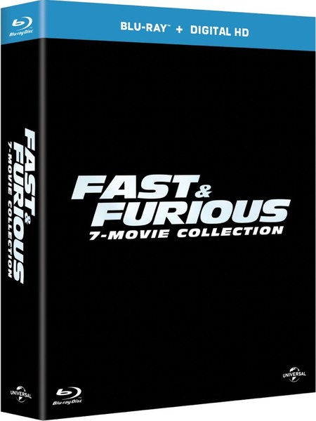 fast furious 1 7 boxset blu ray. Black Bedroom Furniture Sets. Home Design Ideas